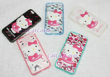 Matte cute Hello Kitty cat doll 3D rasied soft rubber iPhone 6/6s case cover