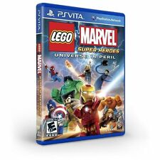LEGO Marvel Super Heroes -- Universe in Peril (Sony PlayStation Vita, 2013)