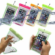4 Colors 5.5Inch Touchscreen Waterproof Pouch Dry Bag Case For iPhone Cell Phone