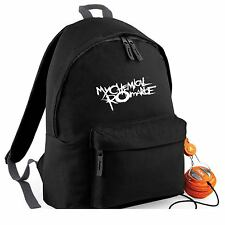 My Chemical Romance Backpack School Travel Rucksack Bag Music Tour Album Band