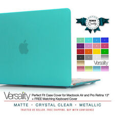 "Cover Case Hard Shell for MacBook Air / Pro Retina 13"" + Free Keyboard Cover"