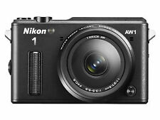 Nikon 1 AW1 camera black kit with 11-27.5mm plus 10mm lens new 27667 2 lens kit