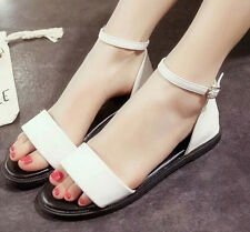 2015 new Rome summer sandals Korean women casual flat round toe sexy lady shoes
