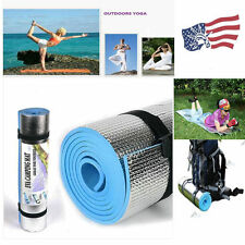 "BLUE 6mm Thick Non-Slip Yoga Mat Exercise Fitness Lose Weight 68""x24""x0.24""  HS"