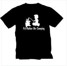 Id Rather Be Camping t shirt tshirt choice of color camper rv hiking