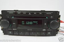 04 05 06 07 08 09 10 Chrysler Dodge Jeep Radio 6 Cd P05064174 (FOR PARTS)H21#027