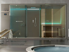 Hafro ETHOS private wellness system complete with sauna shower space and integra