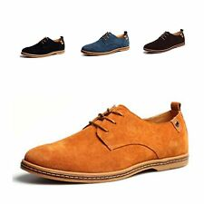 Mens Fashion Leather Suede Casual & Formal Lace Up Comfortable Shoes UK 6-12