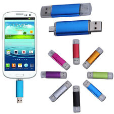 CLE USB/Micro USB key 8 GO 8GB Clé Mémoire Flash Drive U Disk OTG For Android PC