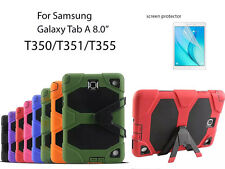"""For Samsung Galaxy Tab A 8.0"""" Heavy Duty Shock Proof case/Screen Protector"""