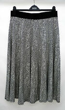 M&S Collection Size 14  Long Viscose Jersey Pull On Skirt with Stretch 30L New