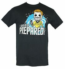 "Star Trek Skele-Treks Mens T-Shirt - Captian Kirk ""I was Not Prepared"" Image"