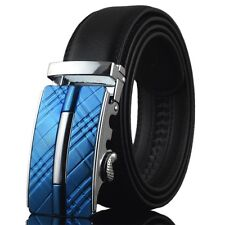 New Fashion Casual Automatic Buckle Men's Waistband Real Genuine Leather Belts