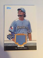 YU DARVISH 2012 TOPPS ALL STAR WORKOUT WORN JERSEY PATCH