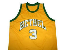 CUSTOM   BETHEL HIGH SCHOOL JERSEY ALLEN IVERSON SEWN NEW ANY NAME, #, XS - 5XL