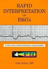 Rapid Interpretation of EKG's by Dale Dubin (2000, Paperback)