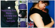 Victoria-Slinglady Stretch Wrap Sling baby carrier suitable from birth EU TESTED