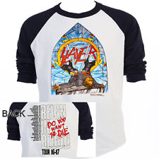"SLAYER,""Reign In Blood"" 86-87 Tour RETRO T-SHIRT,S,M,L,X​L,2X,3X,TBlk-527,L@@K!"