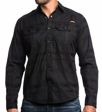 Affliction Black Premium - BLACK DIAMOND - Men's Long Sleeve Dress Shirt - NEW