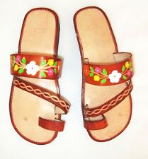 Women Handmade Mexican Leather Sandal Huaraches size 7 to 10  SF09d2