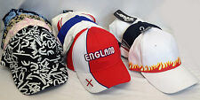 Baseball Cap Adjustable Strap Classic Cotton Mens Ladies New Visor Cadet Caps