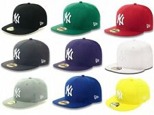 NEW ERA 59FIFTY FITTED CAP NEW YORK YANKEE NY MLB BASIC 5950 HAT (ALL COLOURS)