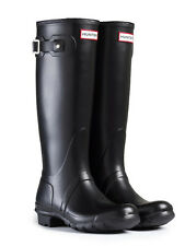 HUNTER ORIGINAL TALL  BLACK RAIN BOOTS WOMEN WFT1000RMA