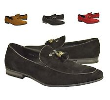 New Mens Casual and Dress Loafers Moccasins Slip-Ons Shoes With Tassels UK 6-12