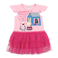BNWT PEPPA PIG TUTU SHIRT TOP DRESS MANY SIZES AVAILABLE