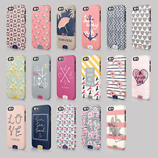 Tirita Sea Side Sailor Anchors Floral Love Hearts Hard Case Cover For Iphone