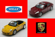 Welly 1:60 DIECAST Porsche Panamera S / 911(997) Carrera S Car Model COLLECTION