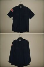 Workrite Blue Nomex IIIA Station Wear Fire Long/Short Sleeve Shirt Size:44/ 48