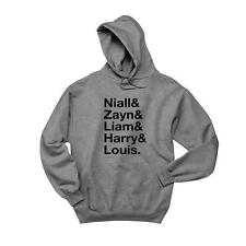 One Direction Band Names Kids Hoodie 1D Boy Bands Soft Comfy Top