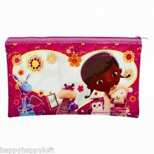 DOC MCSTUFFINS LARGE PENCIL CASE PARTY BAG STOCKING FILLERS GIRLS DISNEY GIFTS