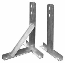 T AND K  WALL  BRACKETS -GALVANISED 24 INCH PAIR