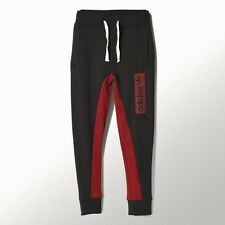Adidas Originals Fleece Jogging Tracksuit Joggers Cuffed Bottoms Pants Silm Fit