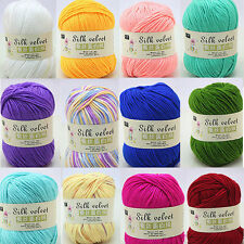 1Pc Cashmere wool silk protein baby Yarn, Yarn cotton baby wool hand-knitted 50g