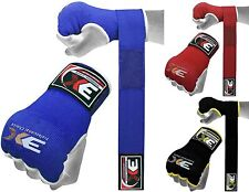 Hand Wrap Gloves Kick Boxing 3X Sports Muay Thai Boxing Sparring Gloves