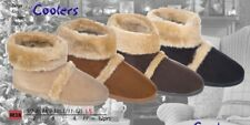 Mens Bootie Slippers / Mans Boot Slippers With Outside Sole