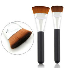 Beauty Professional Soft Makeup 163 Flat Contour Blend Brush Face Cheeks Wooden