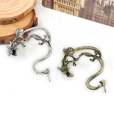 Fashion Vintage Gothic Punk Temptation Metal Dragon Bite Ear Cuff Wrap Earring