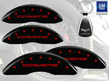 Custom Color 2008 Chevrolet Corvette 427 Limited Z06 MGP Caliper Cover Font Rear