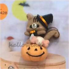Hamanaka Japanese Wool Needle Craft FELT KIT Magician Squirrel Pumpkin Halloween