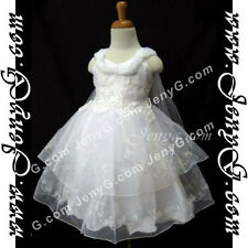 #SP41 Flower Girls/Christening/Formal/Holiday/Pageant Gowns Dresses 0-4 Years
