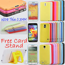 0.3mm Ultra Thin Hard Shell Matte Case Cover for Samsung Galaxy S4 5 Note 2 3 5