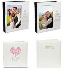 Personalised Photo Albums Wedding Anniversary Gift Ideas 25th, 40th, 50th
