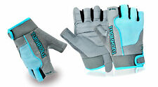 WEIGHT LIFTING LEATHER PADDED GYM EXERCISE FITNESS GLOVES BODY BUILDING CYCLING