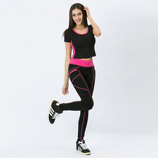 Fitness women tights push-up elastic sports Yoga pants trousers running gym