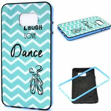 Love Dance Wave 2in1 Glossy Anti-Shock Hybrid Soft Case Cover for Samsung phone