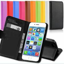 Flip Leather Credit Card Purse Wallet Case Pouch Cover for iPhone 6 6 Plus 5 5s